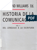 Raymond Williams Historia de La Comunicacion Vol I
