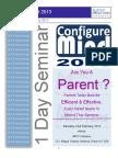 Configure Mind 2013- for Parents