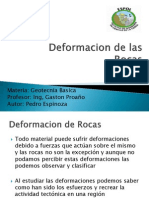 Deformacion de Las Rocas