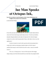The Blue Man Speaks of Octopus Ink, but all I See is  Link Rot and the Rapture of the Geeks