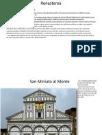 Istoria arhitecturii,Renasterea
