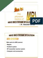 MRI Instrumentation