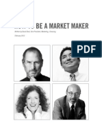 How to Be a Market Maker