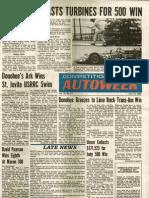 1968 Autoweek