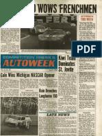 1969 Autoweek