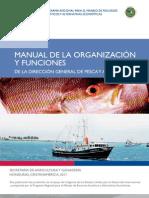 MANUAL DE LA ORGANIZACIÓN Y FUNCIONES DE LA DIRECCIÓN GENERAL DE PESCA Y ACUICULTURA, Secretaria de Agricultura y Ganaderia, Honduras.