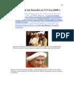 20. Ereziile lui Benedict XVI împotriva Bisericii Catolice