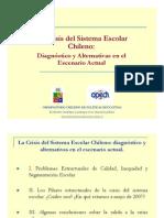 La crisis educativa chilena y las alternativas 2007