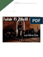 Tafsir Fi Zilalah pilihan (Sayyid Qutbh)