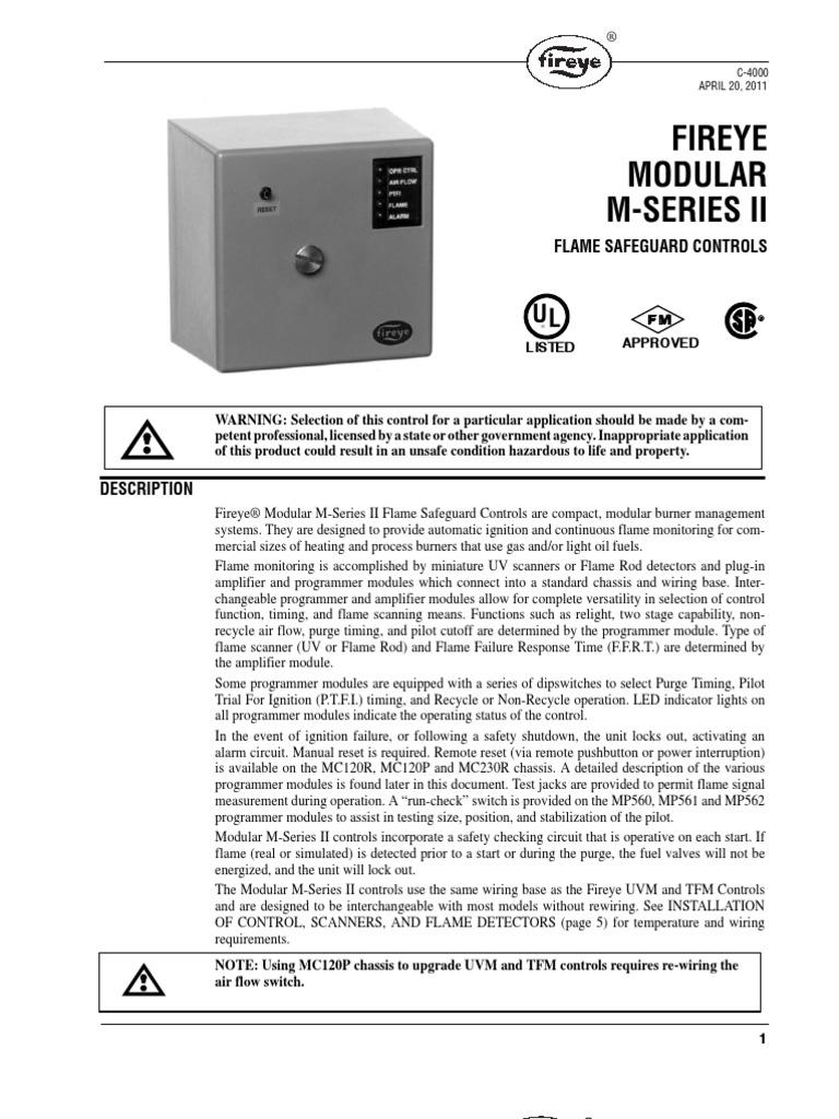 Fireye Wiring Diagram Trusted Diagrams Eb 700 Modular Boiler Electrical Connector Snatch Block