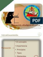 Sesion 2- Planeacion Educativa- Maestria en Educacion III