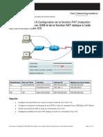 Travaux Pratiques 5.3.8 Configuration de La Fonction PAT SDM