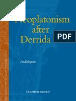 Neoplatonism after Derrida