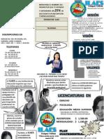 TRIPTICO ILAES PUBLICIDAD
