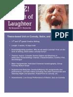 comedy unit plan
