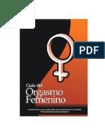 Guia Del Orgasmo Femenino