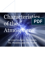 4th period characteristics of the atmosphere