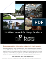 2013 Mayor's Awards for Design Excellence