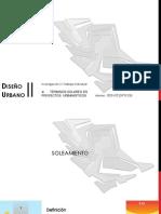 Urbano- Terminos Solares en Proyectos Arquitectonicos