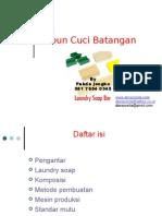 Sabun Cuci Batangan
