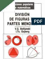 Boltianski - División de figuras en partes menores