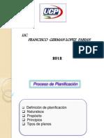 5ta Clase Proceso de Planificacion