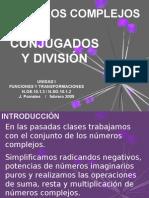 Numeros Complejos Division Versión Blog