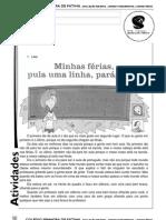 LEITRUA VOLTA ÀS AULAS