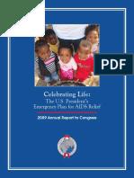 PEPFAR 2009 Congressional Budget Justification 'Annual Report'
