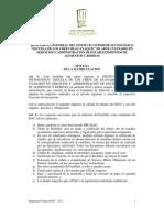Reglamento General ISAC