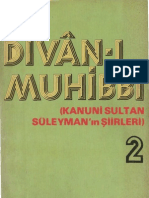 Kanunî Sultan Süleyman - Dîvânı-ı Muhibbî 2
