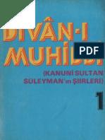 Kanunî Sultan Süleyman - Dîvânı-ı Muhibbî 1
