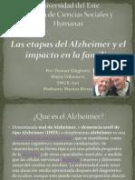 Alzheimer y Sus Etapas