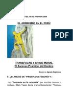Transfugas y Crisis Moral