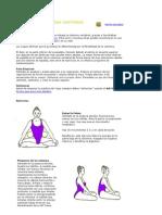 Yoga Para Una Columna Vertebral Flexible