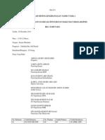Contoh Minit Mesyuarat JPMS