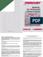 Manual de Proprietario Do Motor de Popa Mercury 8HP A