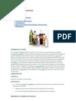 Bebidas carbonatadas(GASEOSAS)