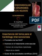 Manejo Endovascular de los Síndromes Agudos de la Aorta Torácica