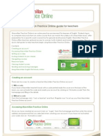 Macmillan Practice guide for teachers