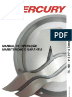 Manual de Proprietario Do Motor de Popa Mercury 75-90-115 HP 4T EFI b