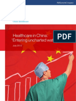 Healthcare in China Entering Uncharted Waters