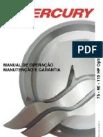 Manual de Proprietario Do Motor de Popa Mercury 75-90-115+HP Optimax b
