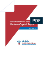 mHealth VC Report Q3-2012 by MHMN