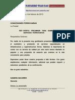 PORTAFOLIO FERROVIARIO