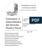 Conceptos y Antecedentesdel Derecho Penal y Fiscal