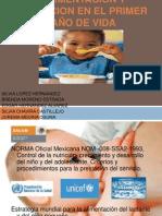 ALIMENTACION Y NUTRICION EN EL PRIMER AÑO DE - copia.pptx