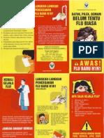 Leaflet Flu Baru H1N1
