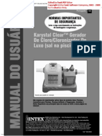 Gerador para piscinas de água salgada (gerador de cloro)