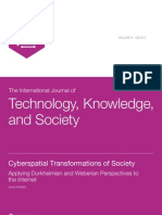 Cyberspatial Transformations of Society